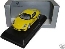 Porsche Cayman S Jaune vitesse - Norev 1:43 - WAP0200310D neuf usine