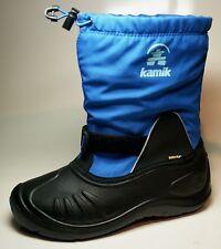 Kamik ShadowG botas de invierno niño Goretex, Talla 38, láser blue, impermeable