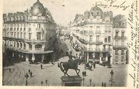 CPA 45 ORLEANS  place du martroi et rue de la republique