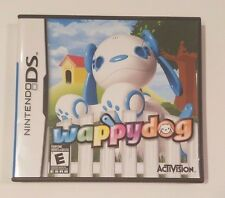 Nintendo DS Wappy Dog complete CIB Activision NDS