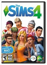 THE SIMS 4 GAME ( WIN MAC ) BRAND NEW. FACTORY SEALED