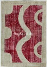 HANDMADE Patchwork Rug Made from Overdyed Vintage Carpets, CUSTOM OPTIONS Av.