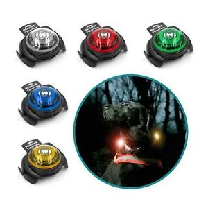 Orbiloc Dog Safety Light Collar Clip Flash Night Walking Waterproof High Vis New