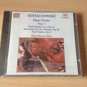Szymanowski: Piano Works Vol.1 (US IMPORT) CD NEW