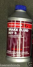 Genuine OEM Honda Brake Fluid Bottle 12 Ounces oz. 08798-9008 DOT 3 Ounce