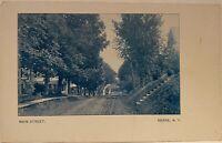Berne NY ~ Main Street ~ Albany County Postcard c. 1908