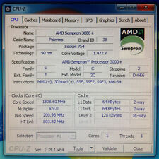AMD Sempron 64 3000+ - 1,8 GHz SDA3000AIO2BX - E6-Stepping - Socket 754