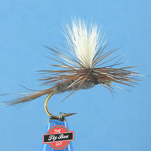 Adams Parachute Premium Fishing Flies - One Dozen - Select Sizes***