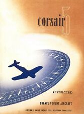 CORSAIR 5 - CHANCE VOUGHT F4U-5 INFORMATION MANUAL