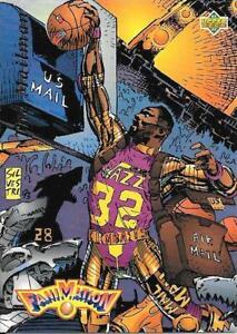 Karl Malone UD Fanimation # 88 1992 1993