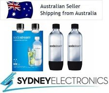SodaStream 291456 1L Carbonating Bottle Soda Maker - Pack of 2