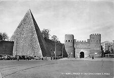 BR18110 Piramide di Caio Cestio e porta S paolo Roma  italy