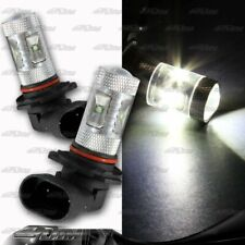 1x Pair Buick Chevy Acura BMW 9005 HB3 30 watt 6 LED White Projector Bulbs