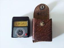 antik Foto Licht Messergrät orig. Gossen Sixtus, Belichtungsmesser Light meter