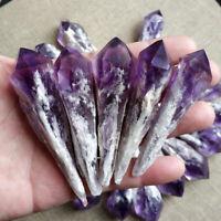 20g Amethyst Cluster Natural Quartz Crystal Point Wand Specimen Reiki Healing