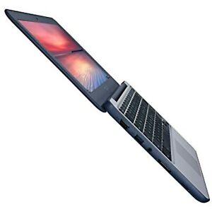"ASUS Chromebook Laptop 11.6""   C202SA-YS02 - 4GB RAM, 16GB  Dark Blue, Silver"