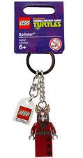 Lego Teenage Mutant Ninja Turtles Splinter Minifig Keychain Key Chain