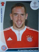 Panini 15 Franck Ribery Bayern München UEFA CL 2009/10