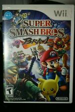 Super Smash Bros. Brawl (Wii, 2008) Very Good Condition, Complete!