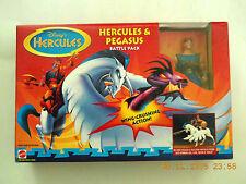MATTEL -DISNEY'S HERCULES ANIMATED HERCULES & PEGASUS ACTION FIGURE BOXSET! NEW!