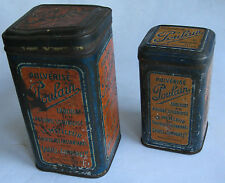 ANCIENNE BOITE POULAIN CHOCOLAT LOT DE 2 PUBLICITE OLD BOX CHOCOLAT Schokolade