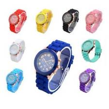 Unisex Silicone Jelly Quartz Wrist Watch Men Women Boy Girl Christmas Gift xmas