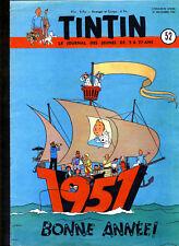 TINTIN    n°  52     du  27  décembre 1950