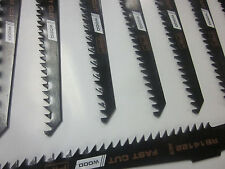 """40pc F4P 6"""" PLUNGE CUTS 6 TPI FOR WOOD RECIPROCATING SABRE SAW BLADES HCS S644D"""