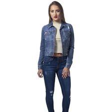 Manteaux et vestes bleu coton pour femme, taille XL