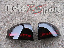 Audi A6 B5 S6 Limo schwarze Rückleuchten Black Tail Lights RS6 Logo