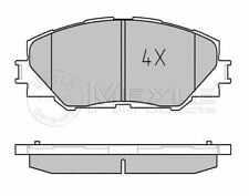 MEYLE 025 243 3717 BRAKE PAD SET DISC brake Front