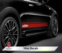 Mini Cooper side stripes John Cooper Works stripes graphics decal JCW 2