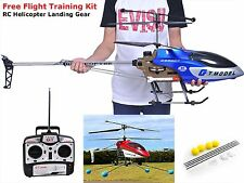 Large Outdoor Remote Control Helicopter 53 Inch RC 2 Speed 3.5 Free Landing Gear