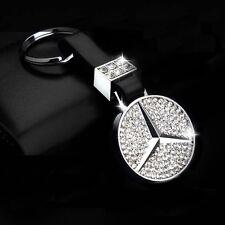 Zinc Alloy Mercedes-Benz² Crystal C E G S SLK SL AMG key chain keychain ring fob