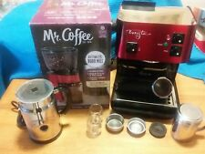 Starbucks Gourmet Espresso Cappuccino Machine With New Grinder Plus Extras