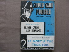 SUPER-YARD POLICIER n° 20
