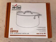 All-Clad C4 Copper Stock Pot With Lid