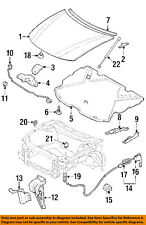 GM OEM Hood-Hinge Left 10297154