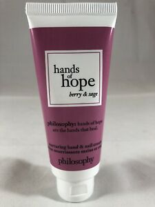 Philosophy Hands Of Hope Berry & Sage 1 Oz. Hand Nail Cream Sealed