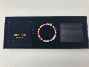Peruvian Pink Opal Bracelet - Brand New in Box - Ref: B400
