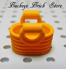 LEGO Friends Accessories Basket Bright Light Orange Handbag Purse Bag