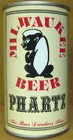 MILWAUKEE BOCK BEER ss CAN w// GOAT Waukee Brewing Hammonton NEW JERSEY 1978 1//1+