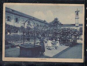 Cartolina Miasino Lago D'Orta Istituto Suore Orsoline il Giardino ANIMATA AC638