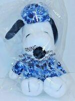"MetLife Snoopy 6.5"" Blue Digital Camo Military Army/Navy Charlie Brown's Dog"