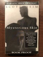 MYSTERIOUS SKIN by SCOTT HEIM - BLACK SWAN - P/B - UK POST £3.25*PROOF*