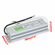 DC12V IP67 Waterproof LED Transformer Driver Power Supply LED Strip light 120W