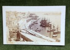 More details for c.1870 malta cdv sa barbara's bastion & harbour sommer & behles of naples & rome