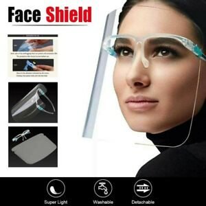 FACE SHIELD FULL FACE VISOR PROTECTION  SHIELD TRANSPARENT CLEAR PLASTIC