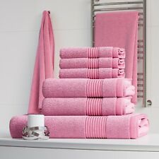LUXURY 100% EGYPTIAN COTTON 6 PC TOWEL BALE SET BATHROOM TOWELS HAND BATH TOWEL