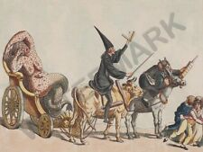 SATIRE 1800 ANONYMOUS TRIUMPH OF THE SMALL POX   POSTER ART PRINT HP3457
